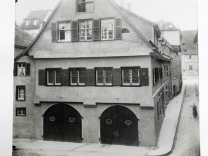 Rebleutehaus um 1920 (Stadtarchiv RV)