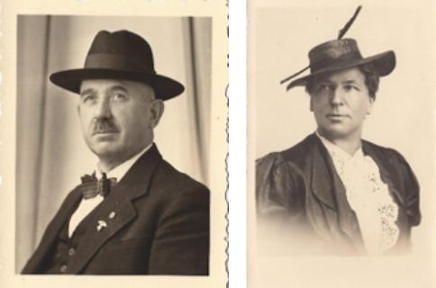 Albert und Veronika Dressel, um 1925