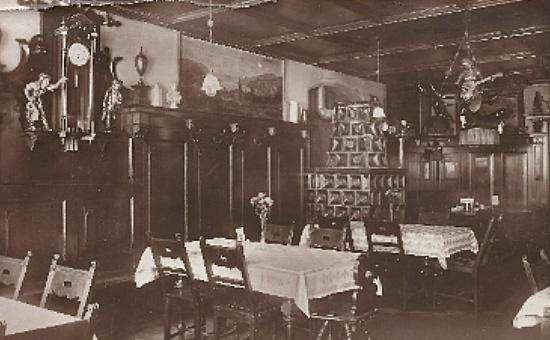 Altdeutsche Weinstube, um 1880