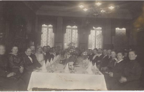 Großer Waldhornsaal, um 1920