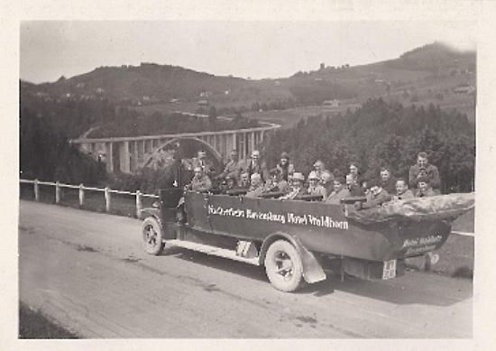 Luxusaussichtswagen bei Oberstaufen/ Allgäu