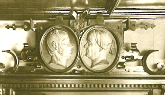 Waldhorn-Gründerehepaar Lorenz und Anna Maria Dressel